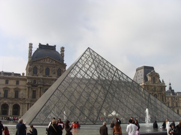 Visiting the Louvre in Paris
