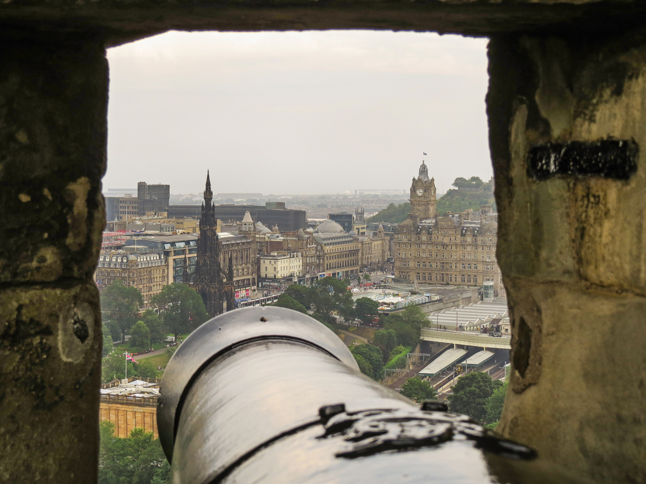 Our Adventure Begins   Edinburgh, Scotland