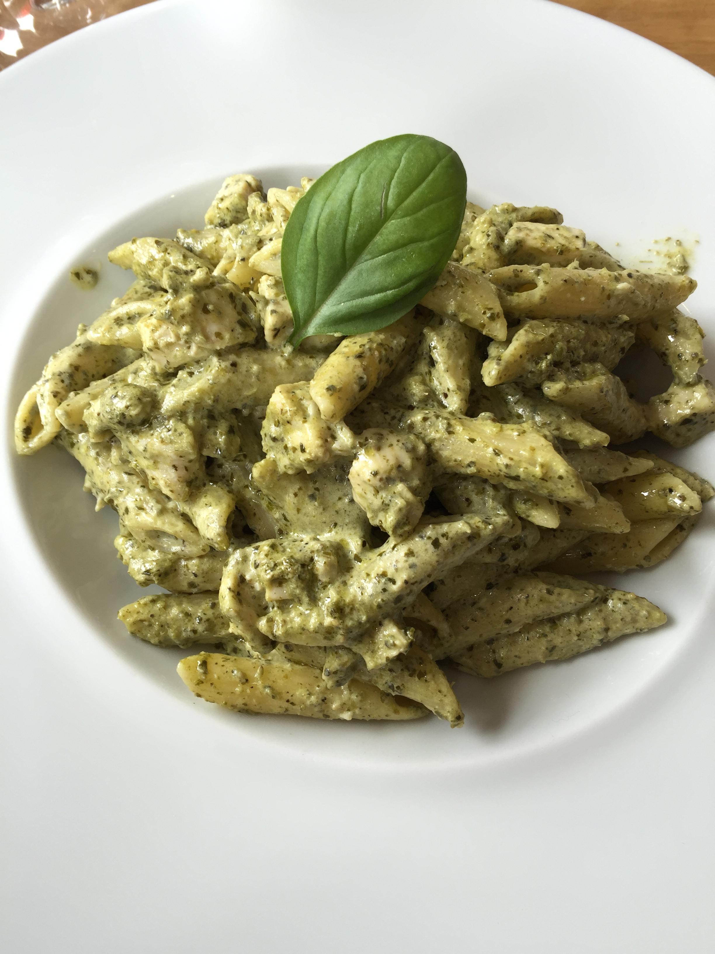 Penne Chicken Pesto