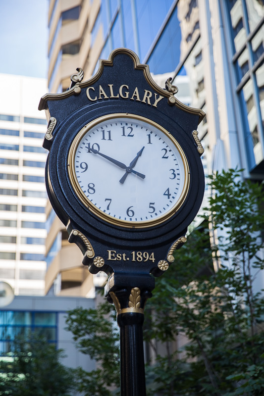 downtown-calgary-clock