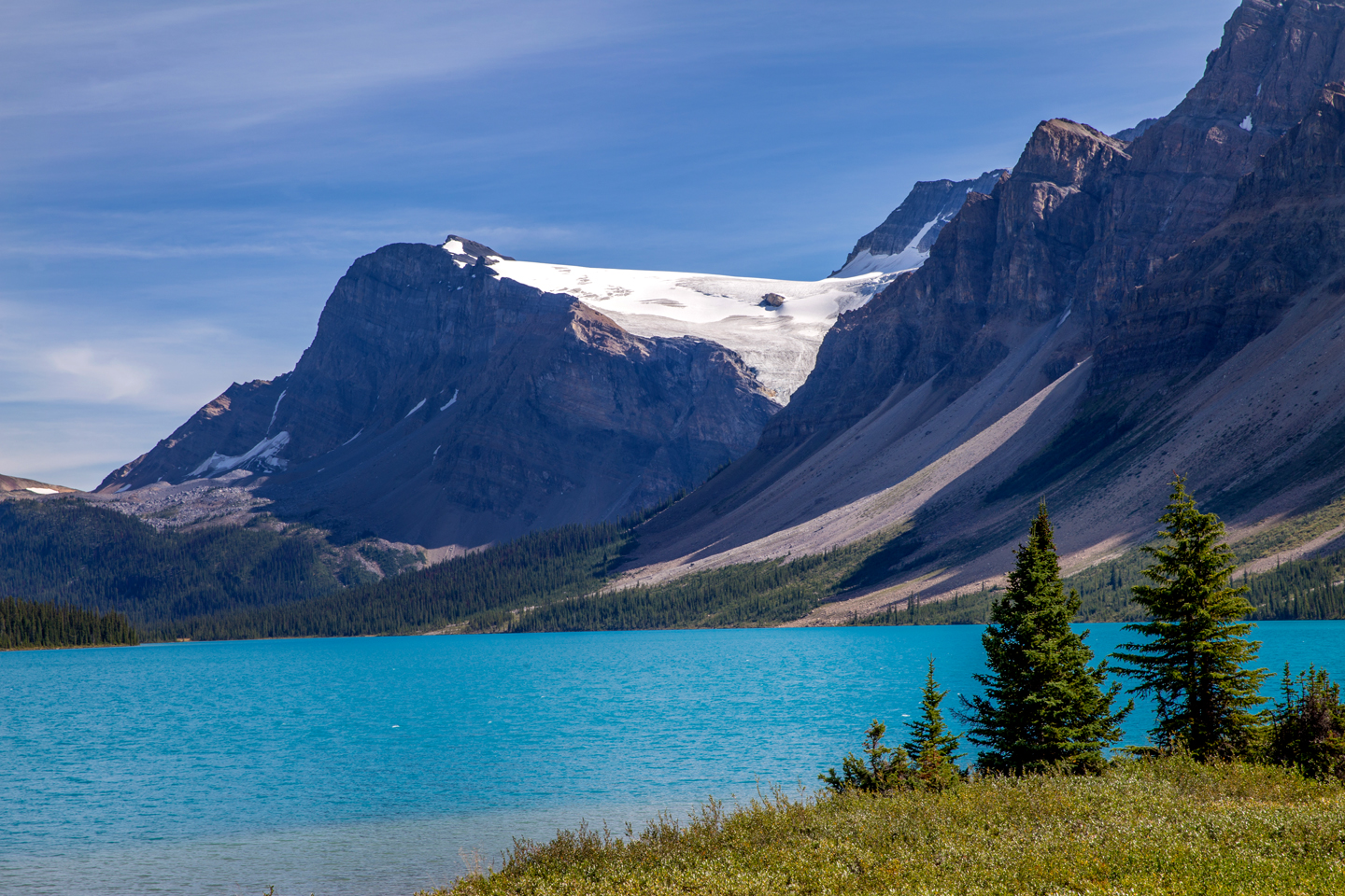 icefields-parkway-bow-lake-shore