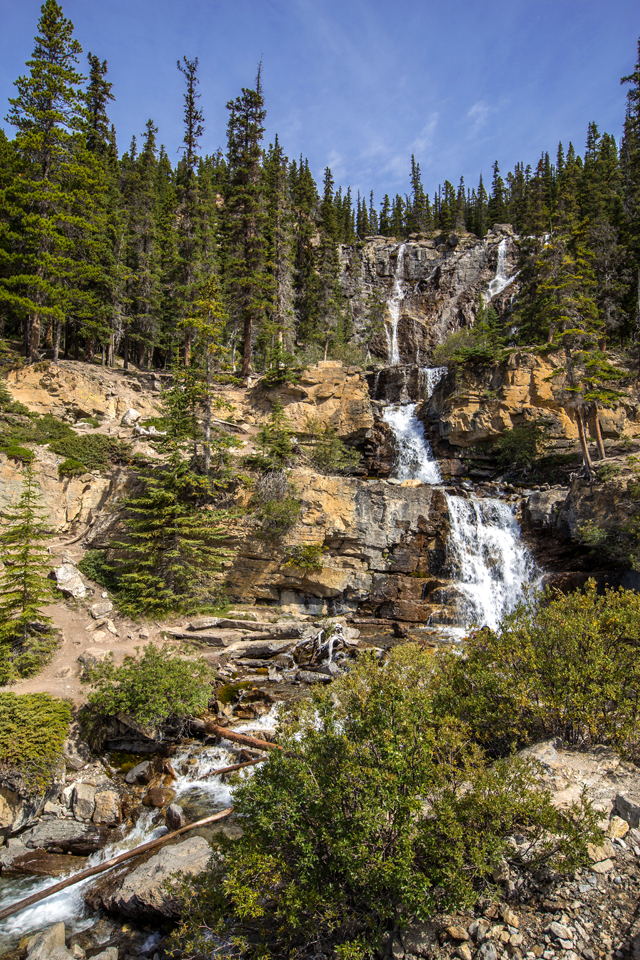tangle-falls-icefields-parkway