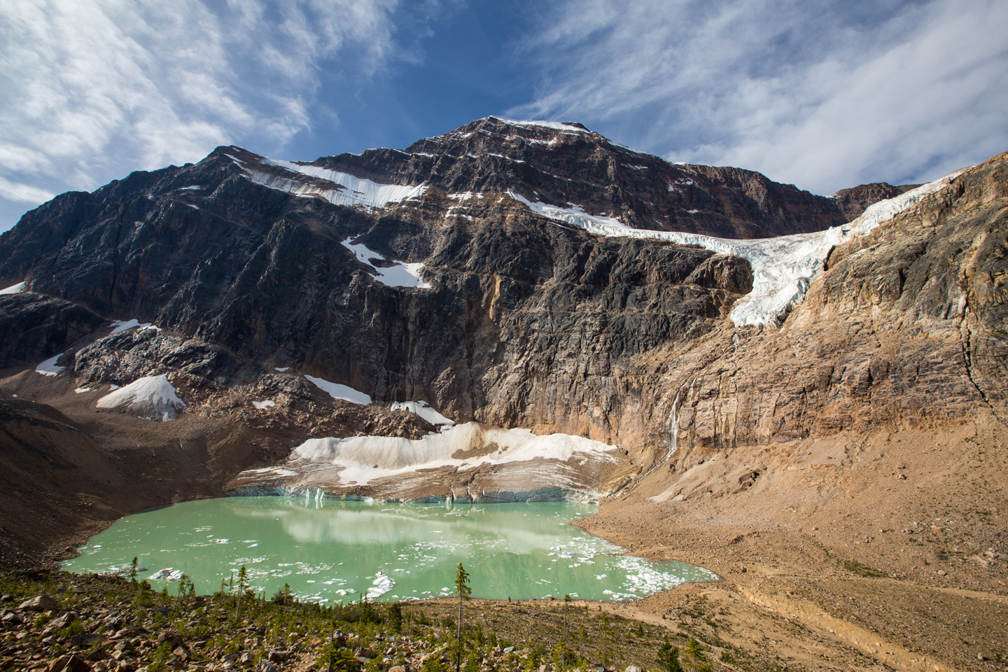 Angel Glacier & Mount Edith Cavell Hike | Jasper National Park