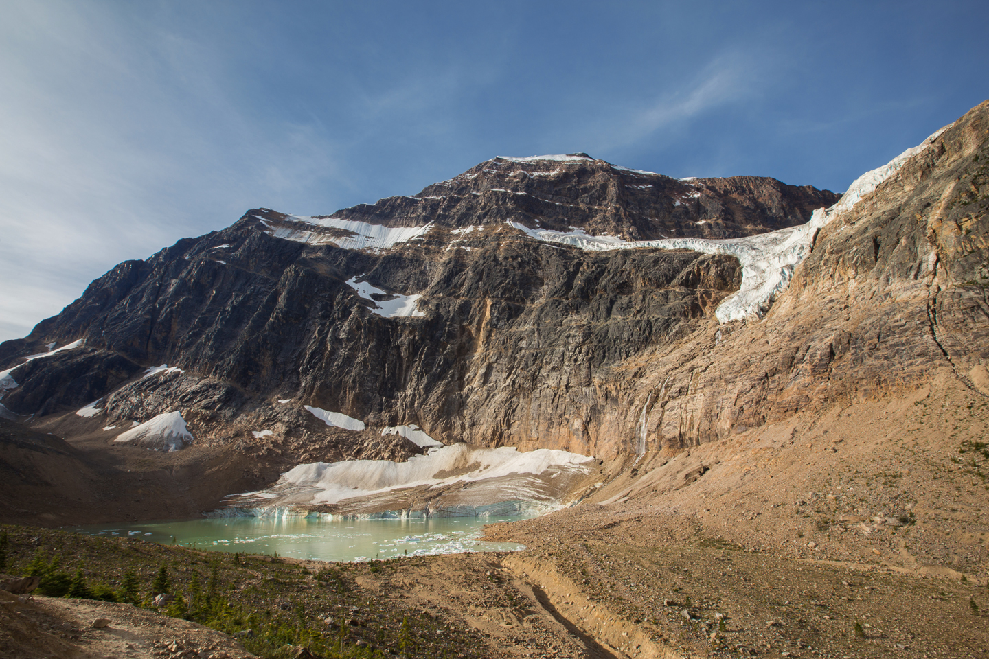 Mt. Edith Cavell Hike