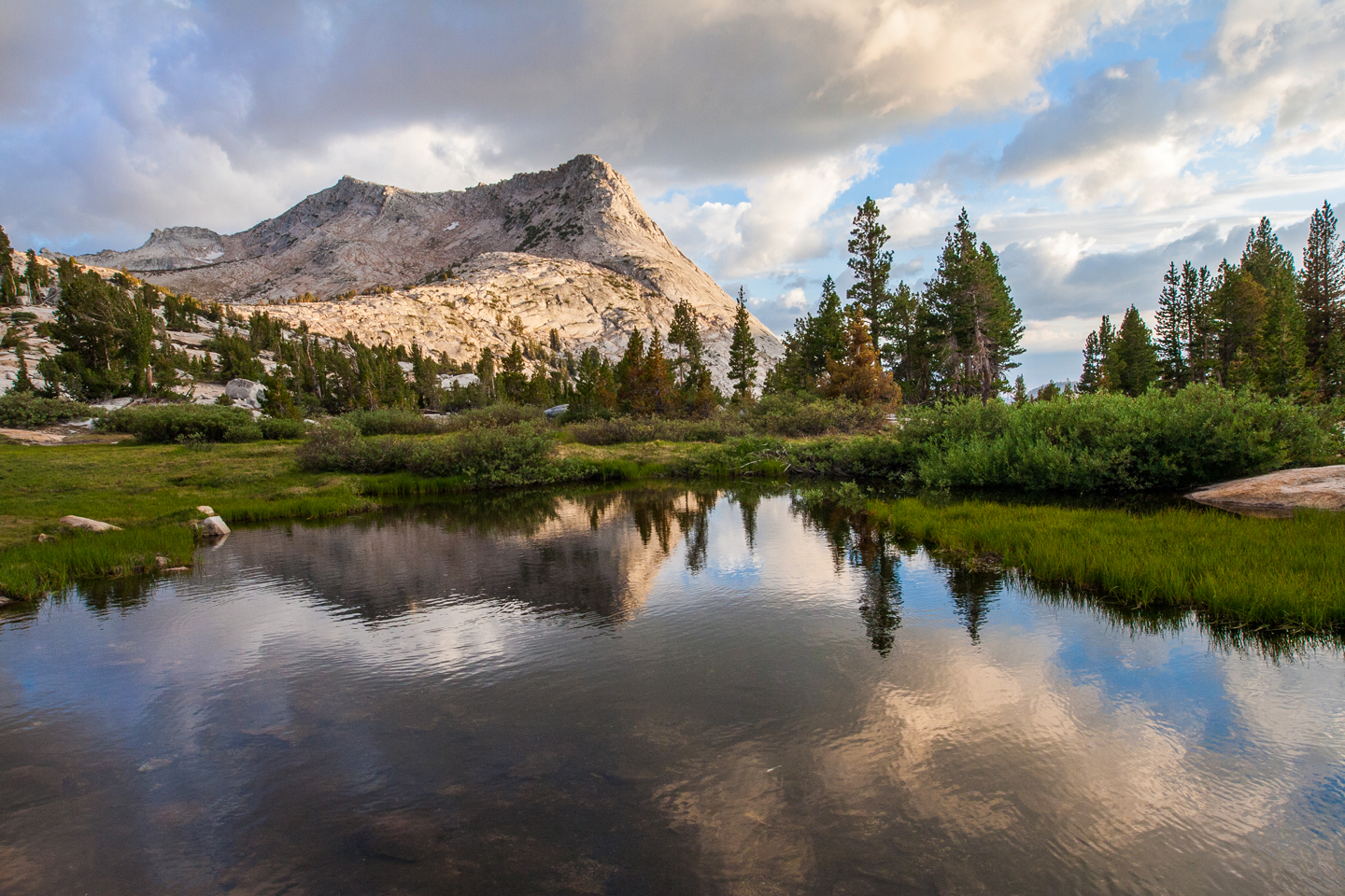Backpacking through the High Sierra Camps | Yosemite National Park, California