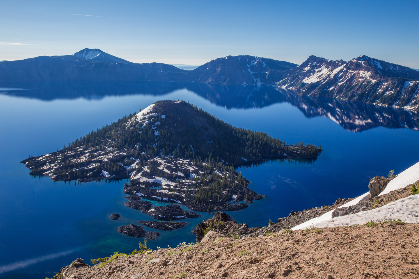 Crater Lake in Summer