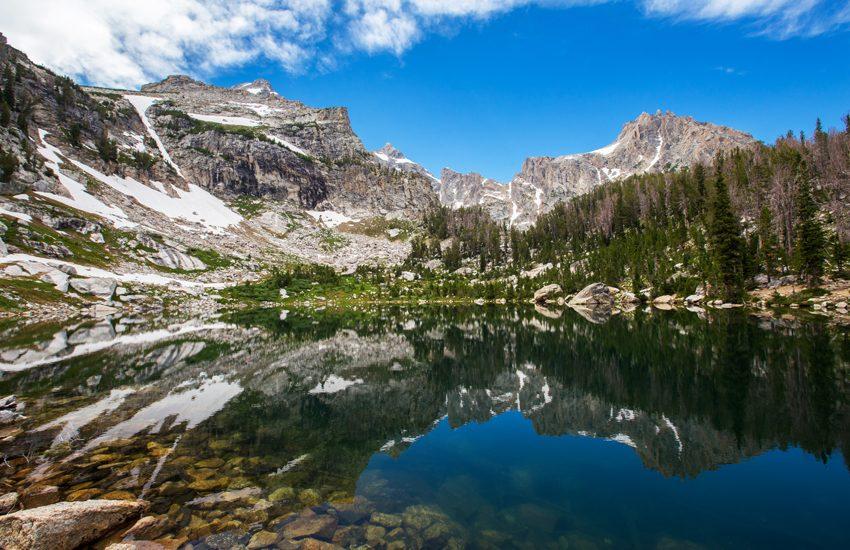 Hiking to Amphitheater Lake | Grand Teton National Park