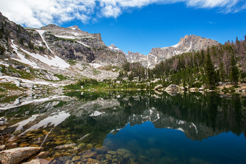 Hiking to Amphitheater Lake | Grand Teton National Park