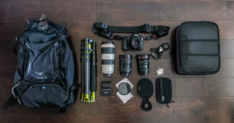 My Photography Gear: Hiking and Backpacking with a DSLR