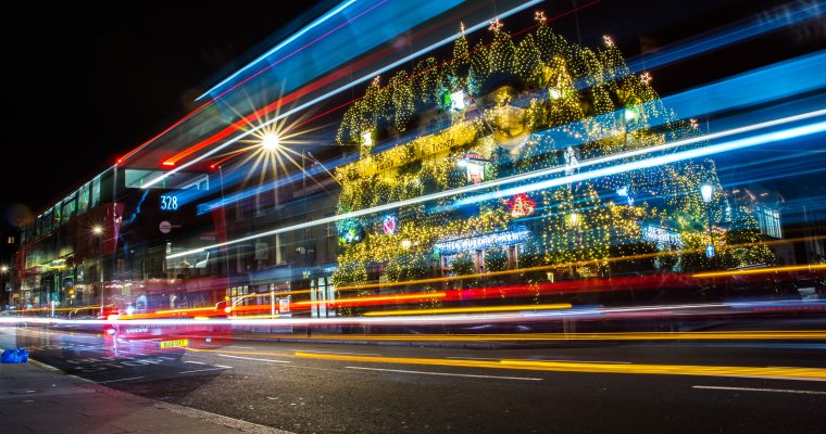 Christmas Light Magic in London