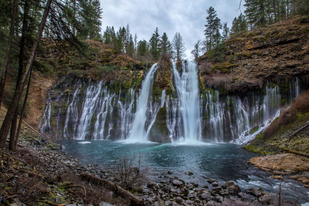 Visiting Burney Falls