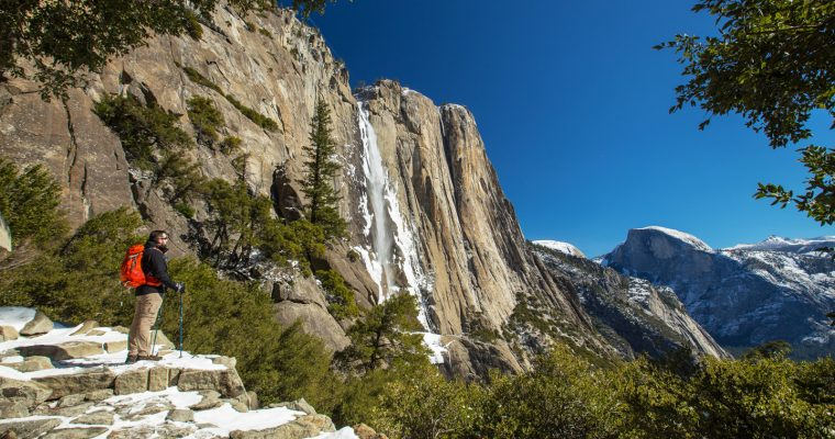 Yosemite Falls Hike to the Top in Winter | Yosemite National Park