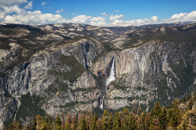 Yosemite Glacier Point hike