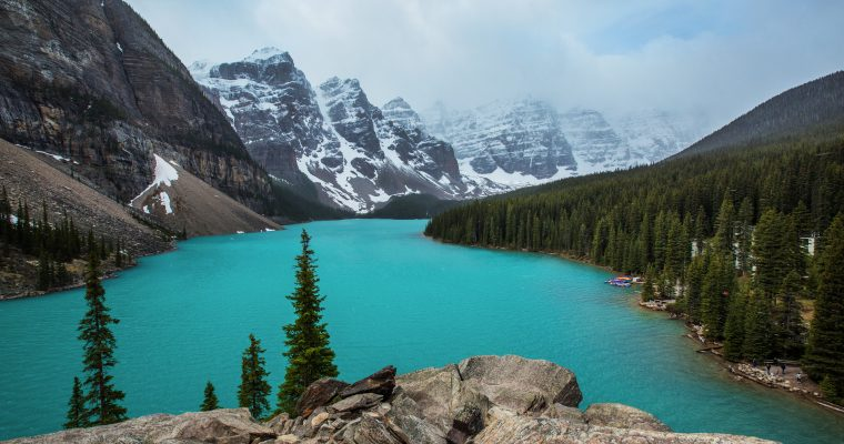 Hiking to Moraine & Consolation Lakes | Banff National Park
