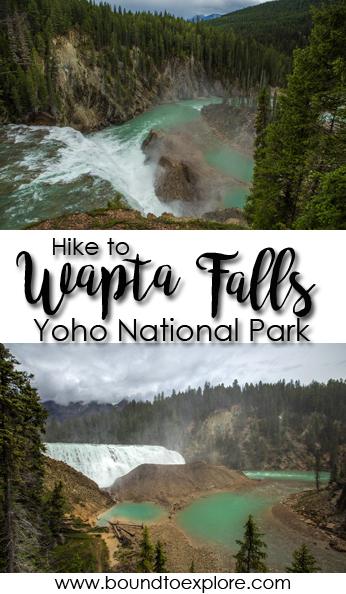Hiking to Wapta Falls