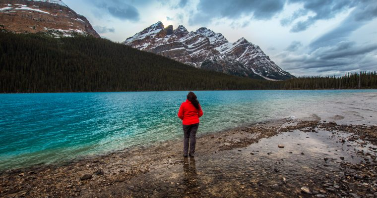Peyto Lake Hike to the Bottom | Banff National Park