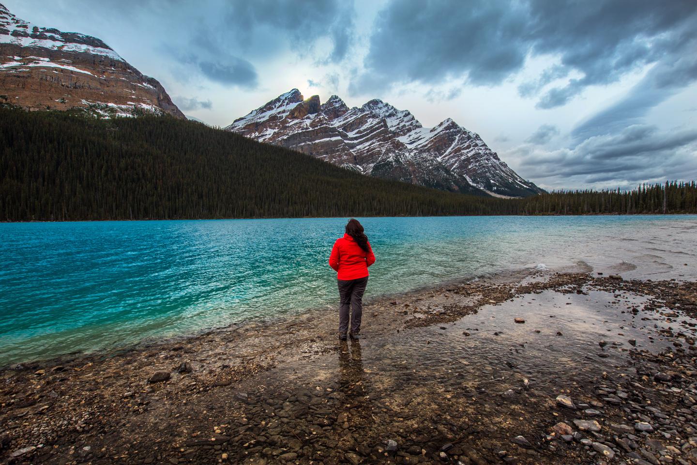 Peyto Lake Hike to the Bottom | Banff National Park