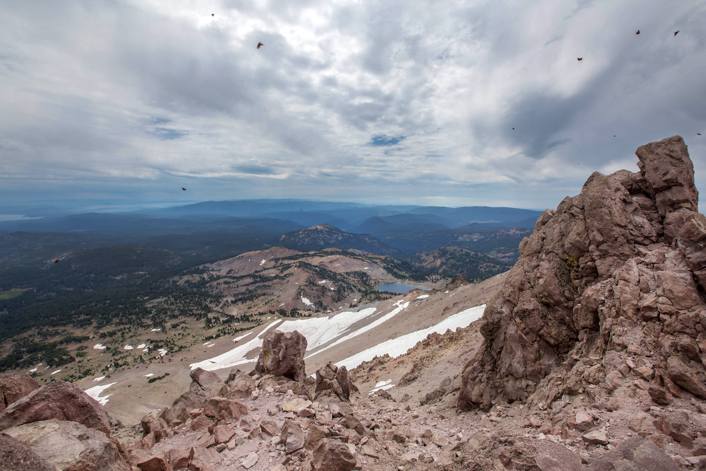 Hiking Lassen Peak
