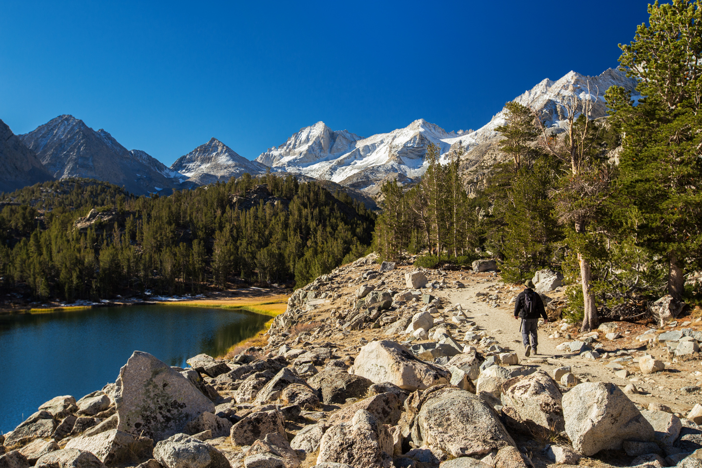 Hiking Little Lakes Valley | Gem Lakes