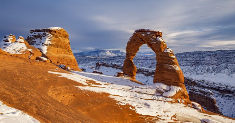 Visiting Arches National Park in Winter