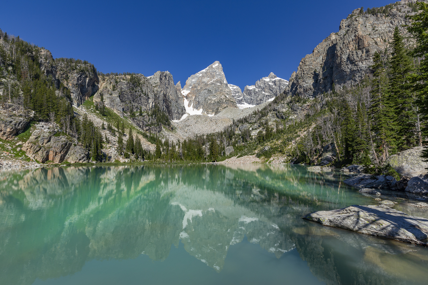 Delta Lake Hike | Grand Teton National Park Hiking