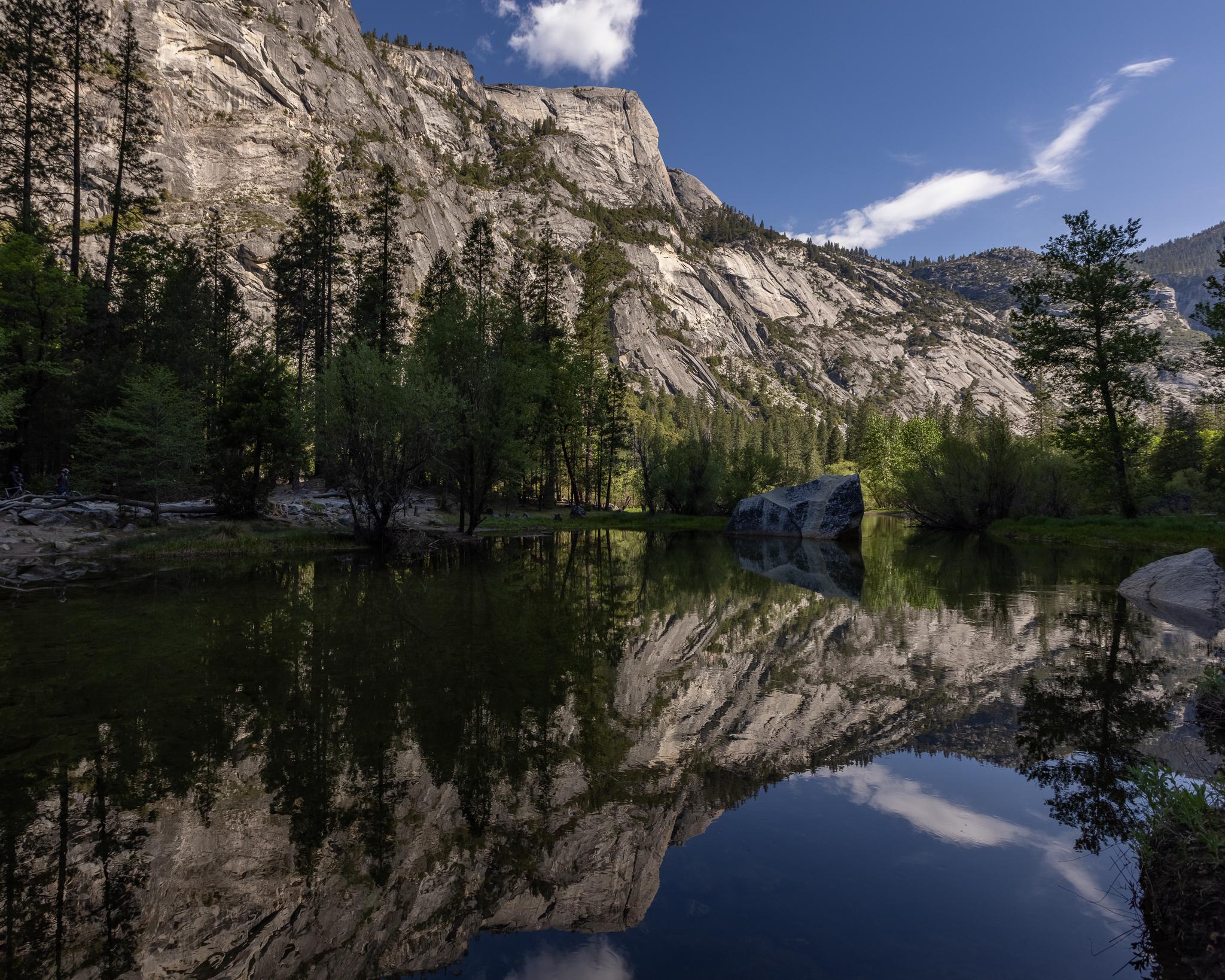 Hiking Mirror Lake