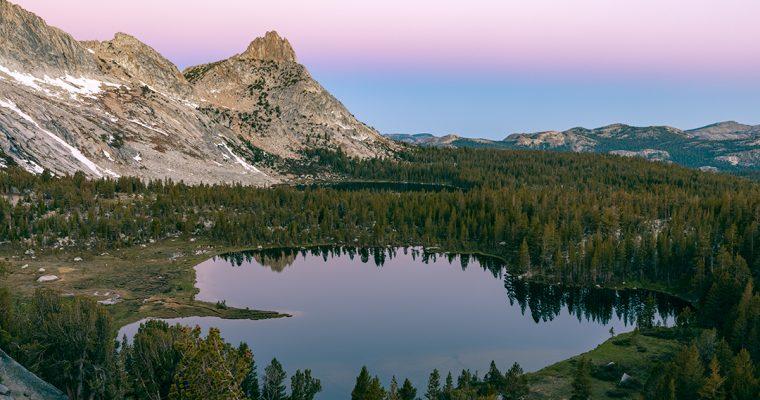 Backpacking Young Lakes | Yosemite National Park